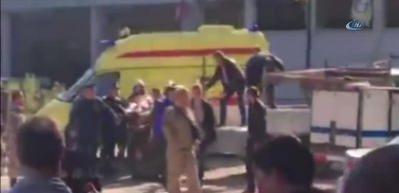 Kırım'da patlama! Çok sayıda ölü ve yaralı var