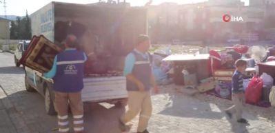 Kış günü 6 kişilik aile eşyalarıyla birlikte sokağa atıldı