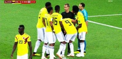 Kolombiya İngiltere mücadelesinde 'Bilica' vakası