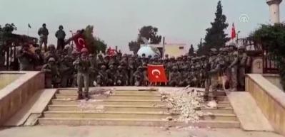 Komandolar Afrin'i inletti!