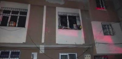 Komşusunun kızını kaçıran kişinin evi kundaklandı