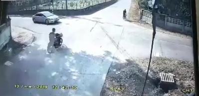 Kontrolsüz çıkış facia getirdi! Dehşet kamerada
