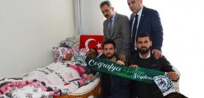 Konyaspor'dan Afrin Gazisine ziyaret