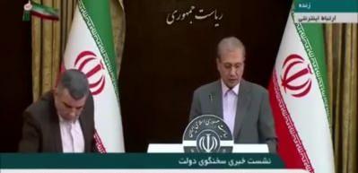 Koronavirüse yakalanan İran Sağlık Bakanı Yardımcısı'nın canlı yayında terlediği anlar