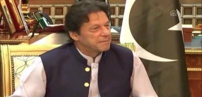 Kral Selman, Pakistan Başbakanı İmran Han'la görüştü