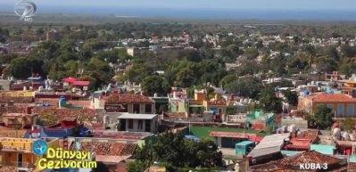 Küba'nın en gözde turistik noktası Trinidad Kasabası