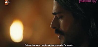 Kuruluş Osman'da Osman Bey'in Fetih Süresi'nin okuduğu sahne!