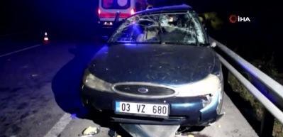 Kütahya'da katliam gibi kaza: Ölü ve yaralılar var!