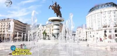 Kuzey Makedonya Üsküp'te nereler gezilir? Ne yenir?