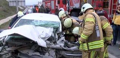 Kuzey Marmara Otoyolunda trafik kazası: 1 ölü