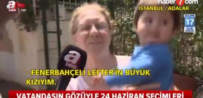 Lefter'in kızından Erdoğan'a övgü