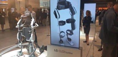 LG'den giyilebilir robot: CLOi SuitBot