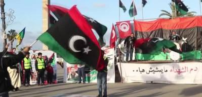 Libya'da Hafter'e bağlı milislerin saldırıları protesto edildi