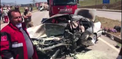 LPG'li araçta can pazarı! 5 ölü, 3 yaralı