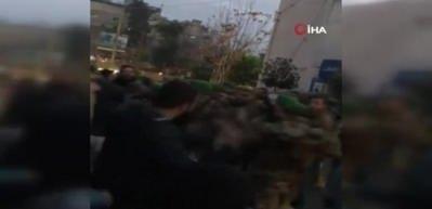 Lübnan'da sokaklar karıştı!