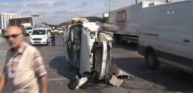 Şile yolunda kaza: 2 yaralı