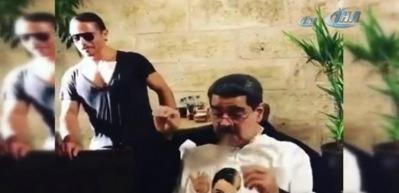 Maduro, Nusret'in konuğu oldu