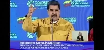 Maduro'dan deprem etkisiz yapacak suçlama!