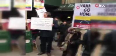 Maduro'yu destekleyenler New York'ta sokağa indi