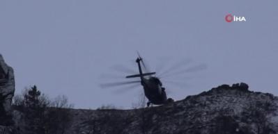 Mağarada saklanan PKK'lı teröristlere operasyon
