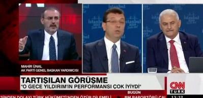 Mahir Ünal: Küçükkaya İmamoğlu'na 'Belediye Başkanı' diye hitap etti