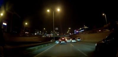 Makas terörü ve kaza anı kamerada