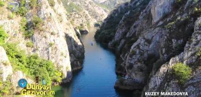 Makedonya'nın Üsküp şehrinde gezilecek yerler: Matka Kanyonu ve mağaralar