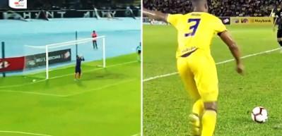 Malezya Kupası'nda müthiş gol!