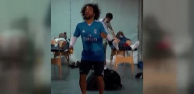 Marcelo sınırları zorladı! Bu sefer tenis topuyla...