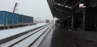 Marmaray'da bir ilk olmuştu... Kars'ta ilginç anlar