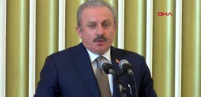 Meclis Başkanı Şentop, TBMM'de yemin törenine katıldı