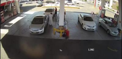 Medine'de benzin istasyonunda büyük patlama!