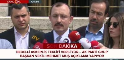 Mehmet Muş, bedelli askerlikle ilgili yeni detaylar paylaştı