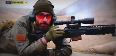 Mehmetçik Afrin'de Bora-12 ile teröristleri hedef alıyor