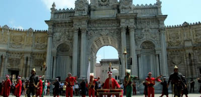 Mehteran Bölüğü Dolmabahçe Sarayı'nda muhteşem konser
