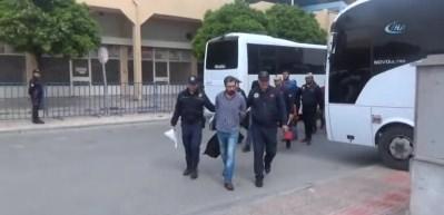 Mersin'de bombalı eylem hazırlığındaki PKK'lılar yakalandı