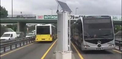 Metrobüs rüzgarından 20 bin eve elektrik