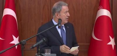 Milli Savunma Bakanı Akar: Rejim, İdlib'i almayı kendine hak görüyor