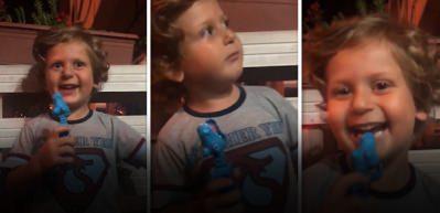 Minik çocuğun türküsü sosyal medyayı kırdı geçti