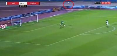 Mısır Ligi'nde çok konuşulan kurtarış!