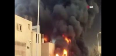 Mısır'da fabrika yangını: 3 ölü, 8 yaralı