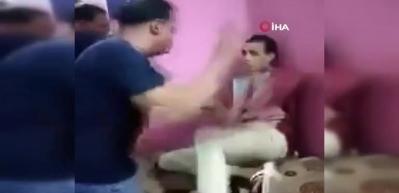 Mısır'da zihinsel engelli gence darp!