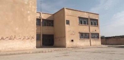 MSB: Terör örgütü PKK/YPG'nin Rasulayn'da zarar verdiği okul onarıldı