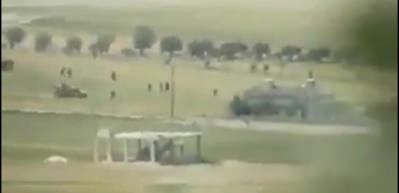 Muhalifler vurdu, Esed'in askeri arkasına bakmadan kaçtı