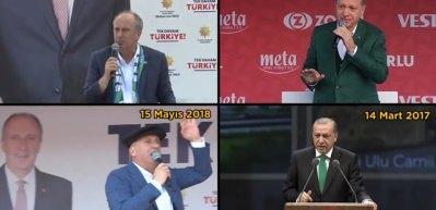 Muharrem İnce de Cumhurbaşkanı Erdoğan'ın izinde