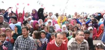 Murat Kekilli Suriye'de konseri verdi