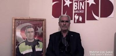 Murat Zorluoğlu'ndan Fethi Sekin için anlamlı klip