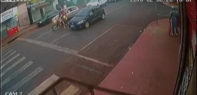 Go kart aracıyla polisten böyle kaçtı!