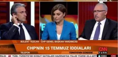 Nedim Şener, Bülent Tezcan'ı fena bozdu