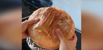Nermin Yazıtaş'tan çıtır çıtır köy ekmeği tarifi